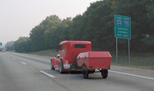 Louisville freeway to NSRA Nationals
